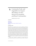 Interactions Between Agroecosystems and Rural Communities - Chapter 6