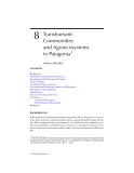 Interactions Between Agroecosystems and Rural Communities - Chapter 8