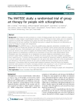 "Báo cáo y học: "" The MATISSE study: a randomised trial of group art therapy for people with schizophrenia"""