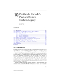 Climate Change and Managed Ecosystems - Chapter 10