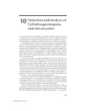 Cyanobacterial Toxins of Drinking Water Supplies: Cylindrospermopsins and Microcystins - Chapter 10