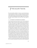 Cyanobacterial Toxins of Drinking Water Supplies: Cylindrospermopsins and Microcystins - Chapter 7
