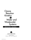 Ozone Reaction Kinetics for Water and Wastewater Systems - Chapter 1