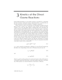 Ozone Reaction Kinetics for Water and Wastewater Systems - Chapter 3