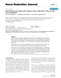 """báo cáo khoa học: """"  Introducing oral tobacco for tobacco harm reduction: what are the main obstacles?"""""""