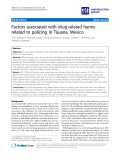 "báo cáo khoa học: ""  Factors associated with drug-related harms related to policing in Tijuana, Mexico"""