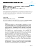 """báo cáo khoa học: """"   Antibiotic resistance as a global threat: Evidence from China, Kuwait and the United States"""""""