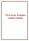CFA Practice exams volume 2
