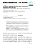 """Báo cáo y học: """" Co-infection by Streptococcus anginosus and Mycobacterium tuberculosis: three case reports"""""""