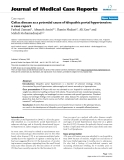 "Báo cáo y học: ""Celiac disease as a potential cause of idiopathic portal hypertension: a case report"""