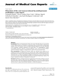 "Báo cáo y học: ""Ulceration of the oral mucosa induced by antidepressant medication: a case report"""