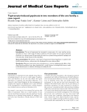 "Báo cáo y học: "" Topiramate-induced psychosis in two members of the one family: a case report"""