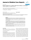"""Báo cáo y học: """"Sweet's syndrome in a patient with Crohn's disease: a case report"""""""