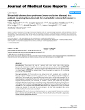 "Báo cáo y học: ""  Sinusoidal obstruction syndrome (veno-occlusive disease) in a patient receiving bevacizumab for metastatic colorectal cancer: a case report"""