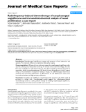 """Báo cáo y học: """"Radiofrequency-induced thermotherapy of nasopharyngeal angiofibroma and immunohistochemical analysis of vessel proliferation: a case report"""""""