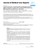 "Báo cáo y học: ""Impaired expression of mitochondrial and adipogenic genes in adipose tissue from a patient with acquired partial lipodystrophy (Barraquer-Simons syndrome): a case report"""