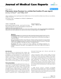 "Báo cáo y học: "" Clavicular stress fracture in a cricket fast bowler: A case report"""
