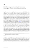 MULTI - SCALE INTEGRATED ANALYSIS OF AGROECOSYSTEMS - CHAPTER 10