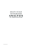 MULTI - SCALE INTEGRATED ANALYSIS OF AGROECOSYSTEMS - CHAPTER 1