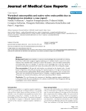 """Báo cáo y học: """"Vertebral osteomyelitis and native valve endocarditis due to Staphylococcus simulans: a case report"""""""