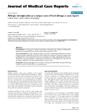 "Báo cáo y học: ""   Allergic hemiglossitis as a unique case of food allergy: a case report"""