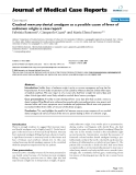 "Báo cáo y học: ""  Cracked mercury dental amalgam as a possible cause of fever of unknown origin: a case report"""