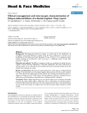 "báo cáo khoa học:""  Clinical management and microscopic characterisation of fatique-induced failure of a dental implant. Case report"""