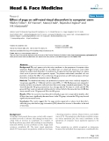 """báo cáo khoa học:""""  Effect of yoga on self-rated visual discomfort in computer users"""""""