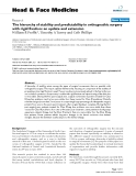 """báo cáo khoa học:""""The hierarchy of stability and predictability in orthognathic surgery with rigid fixation: an update and extension"""""""