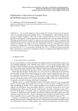 NATURAL ARSENIC IN GROUNDWATER: OCCURRENCE, REMEDIATION AND MANAGEMENT - CHAPTER 25
