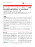 """Báo cáo y học: """"Extra-cellular release and blood diffusion of BART viral micro-RNAs produced by EBV-infected nasopharyngeal carcinoma cells"""""""