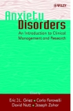 Anxiety Disorders an introduction to clinical management and research - part 1
