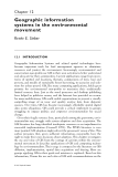 Community Participation and Geographic Information Systems - Chapter 12