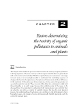 ORGANIC POLLUTANTS: AN ECOTOXICOLOGICAL PERSPECTIVE - CHAPTER 2