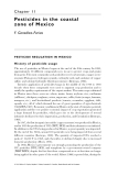 Pesticide Residues in Coastal Tropical Ecosystems: Distribution, fate and effects - Chapter 11