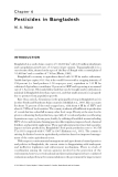 Pesticide Residues in Coastal Tropical Ecosystems: Distribution, fate and effects - Chapter 6