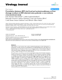 """Báo cáo khoa học: """" Correlation between HIV viral load and aminotransferases as liver damage markers in HIV infected naive patients: a concordance cross-sectional study"""""""
