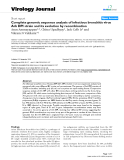 """Báo cáo khoa học: """" Complete genomic sequence analysis of infectious bronchitis virus Ark DPI strain and its evolution by recombination"""""""