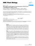 """báo cáo khoa học: """" Phenotypic and fine genetic characterization of the D locus controlling fruit acidity in peach"""""""
