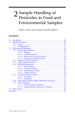 Analysis of Pesticides in Food and Environmental Samples - Chapter 2