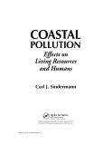 Coastal Pollution: Effects on Living Resources and Humans - Chapter 1