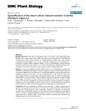 """báo cáo khoa học: """"  Quantification of the tissue-culture induced variation in barley (Hordeum vulgare L.)"""""""