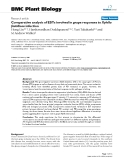 """báo cáo khoa học: """"  Comparative analysis of ESTs involved in grape responses to Xylella fastidiosa infection"""""""