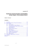 AGROECOSYSTEM SUSTAINABILITY: Developing Practical Strategies - Chapter 5