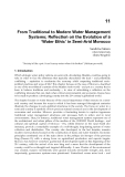 Current Issues of Water Management Part 13