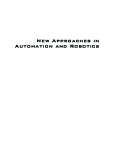 New Approaches in Automation and Robotics part 1