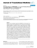 "báo cáo hóa học:""Interdependency of CEACAM-1, -3, -6, and -8 induced human neutrophil adhesion to endothelial cells"""