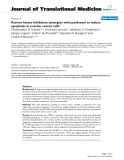 "báo cáo hóa học:""  Aurora kinase inhibitors synergize with paclitaxel to induce apoptosis in ovarian cancer cells"""