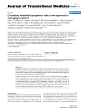 """báo cáo hóa học:"""" Circulating endothelial progenitor cells: a new approach to anti-aging medicine?"""""""