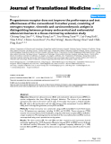 "báo cáo hóa học:"" Progesterone receptor does not improve the performance and test effectiveness of the conventional 3-marker panel, consisting of estrogen receptor, vimentin and carcinoembryonic antigen in distinguishing between primary endocervical and endometrial adenocarcinomas in a tissue microarray extension study"""